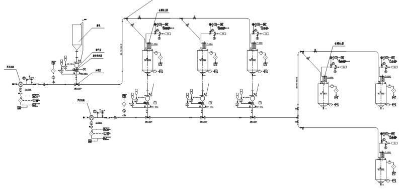 气力输灰输送流程图