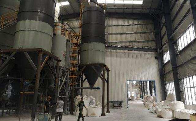 陶瓷粉循环输送系统山西化工厂系统完美运行
