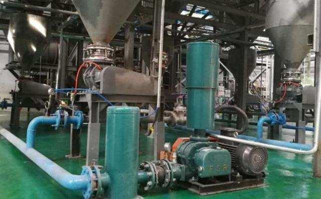 辽宁水泥厂混合灰稀相气力输灰系统