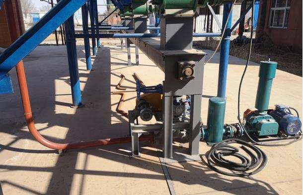 灰土稀相气力输送系统运行成功