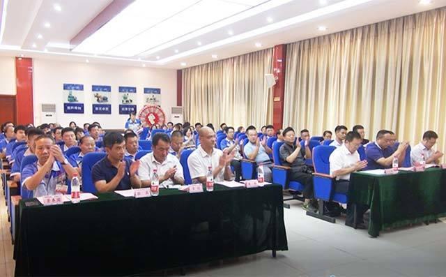 章丘丰源研究生联合培养基地签约暨揭牌仪式在居邦源机械集团总部隆重举行。