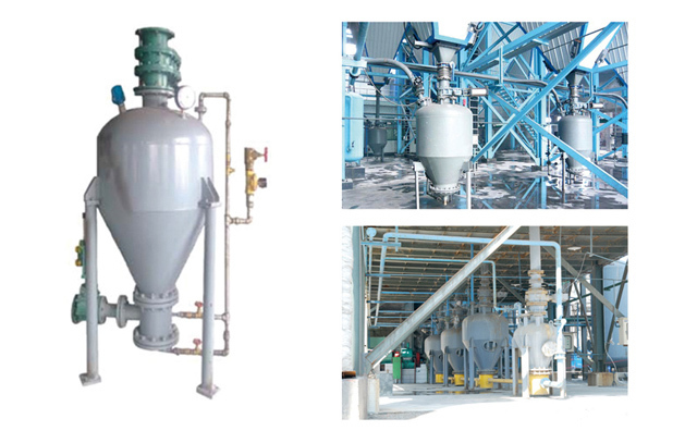 仓泵式气力输送系统